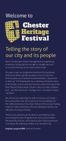 Chester Heritage Festival leaflet 2019 - Page 2