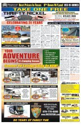 Thrifty Nickel/American Classifieds Oct  25 Edition Bryan