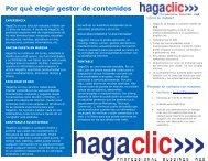folleto HagaClic