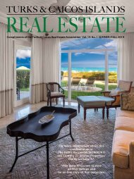 Turks & Caicos Islands Real Estate Summer/Fall 2019