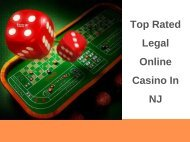 Top Rated Legal Online Casino In NJ
