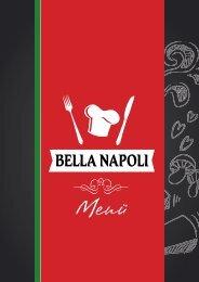 Deutsche menü Bella Napoli Zwolle