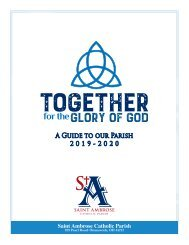 Parish Directory & Guidebook 2019-2020