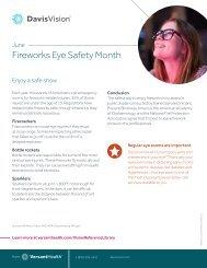 June Fireworks Eye Safety