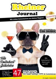 Rheiner Journal - Sommer 2019