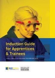 Induction Guide for Apprentices