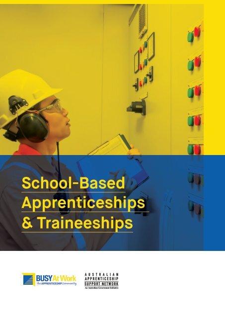 School-based Apprenticeships