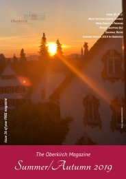 The Oberkirch Magazine - Summer:Autumn 2019