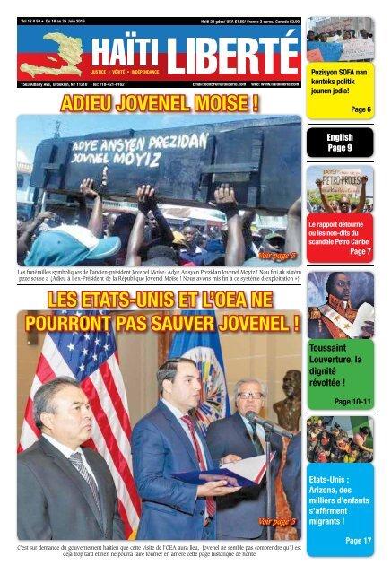 Haiti Liberte 19 Juin 2019
