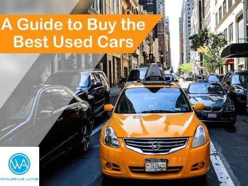 A Guide to Buy the Best Used Cars