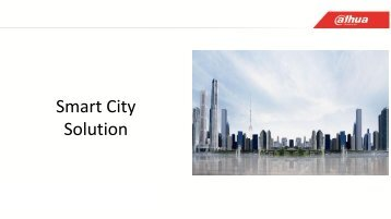 Dahua Smart City Solution