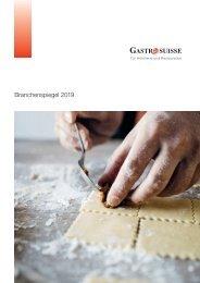 Branchenspiegel GastroSuisse 2019