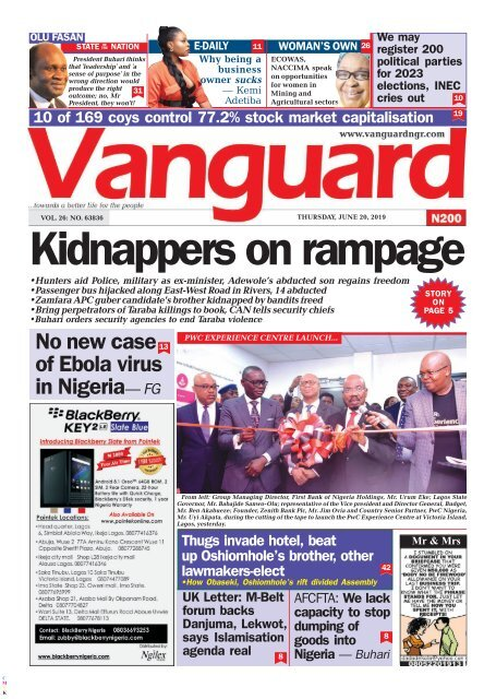 20062019 - Kidnappers on Rampage