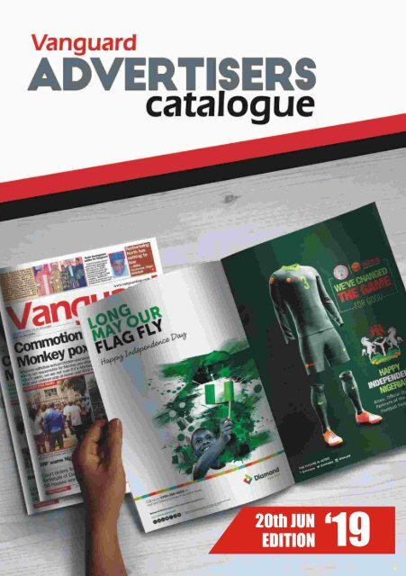 advert catalogue 20 June 2019