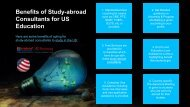 Importance of Study Abroad Consultants to Study in United States