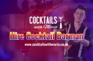 Hire Cocktail Barman for the event or Party? | Cocktails with Mario
