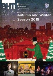 Autumn / Winter 2019 Brochure