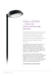 CitySoul LEDGINE – creëer een ... - Philips Lighting