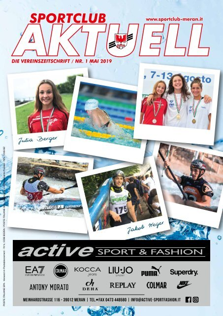 Ausgabe Mai Sportclub Aktuell 2019
