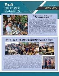 PTT BULLETIN JUNE 2019