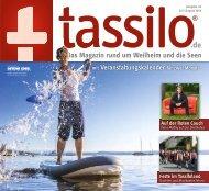 Tassilo, Ausgabe Juli/August 2019 - Das Magazin rund um Weilheim und die Seen