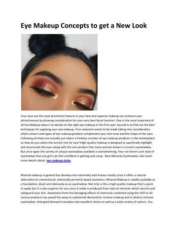 5 eye makeup ideas