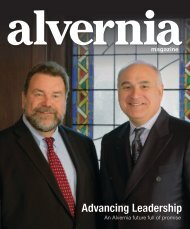 Alvernia Magazine - Advancing Leadership - Summer 2019