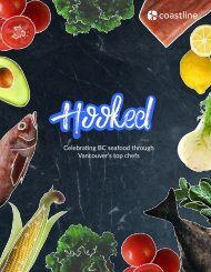 Hooked: Celebrating BC Seafood Through Vancouver's Top Chefs