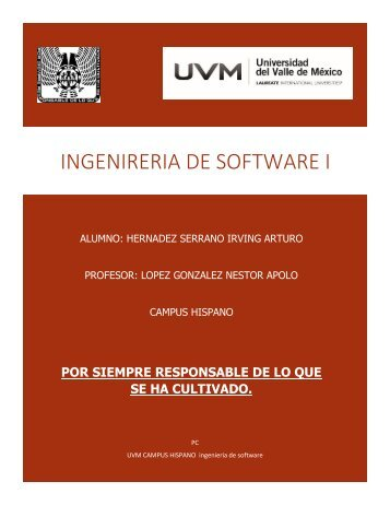 Ingenieria del software