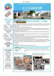 A Chaminé - Jornal do AE Trafaria - n.º 11