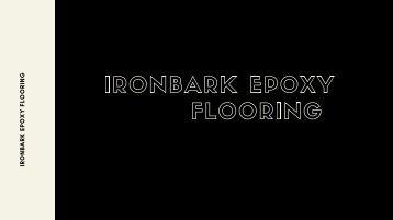 Epoxy Flooring NSW