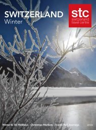 Switzerland Travel Centre Winter Brochure