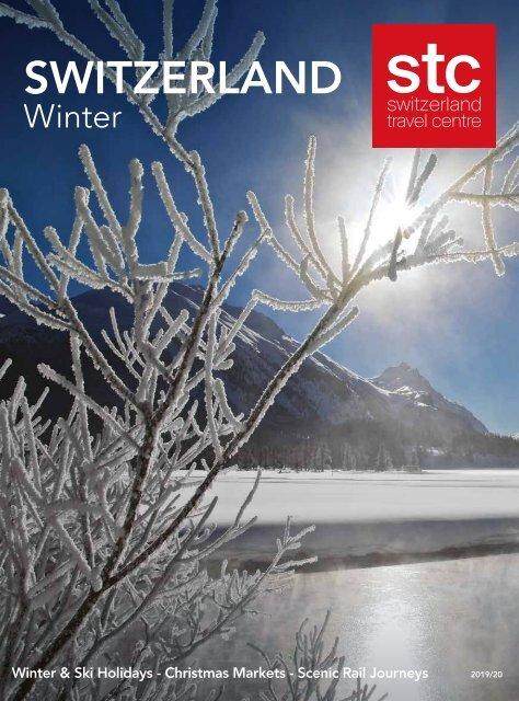 Switzerland Travel Centre Winter Brochure
