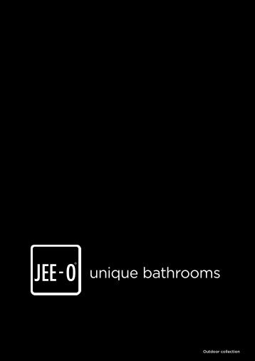 JEE-O outdoor showers - collection 2019