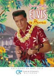 Elvis in Hawaii Fundraiser