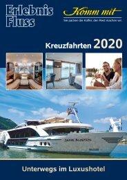 2020 Flusskreuzfahrten Erlebnis Fluss