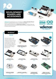 Velleman for Makers - Development Boards & Accessories