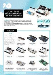 Velleman for Makers - Cartes de Développement et Accessoires