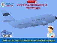 Select Unparallel Emergency Air Ambulance Service in Jabalpur