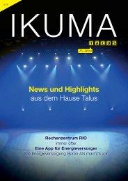 IKUMA 2/19 – News und Highlights aus dem Hause Talus