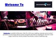 Edmonton DJ  Wedding DJ Edmonton-converted