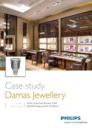 Case study Damas Jewellery - Philips Lighting