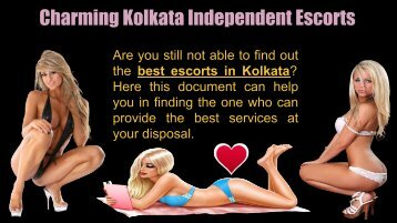 Charming Kolkata Independent Escorts