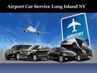 Airport Car Service Long Island NY