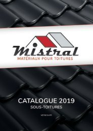 Mistral - Catalogue 2019 - FR