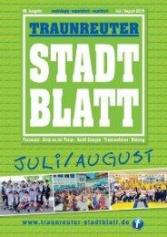 Traunreuter Stadtblatt Juli/August