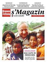 s'Magazin usm Ländle, 23. Juni 2019
