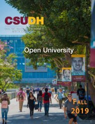 Fall 2019 Open University Schedule (Interactive)