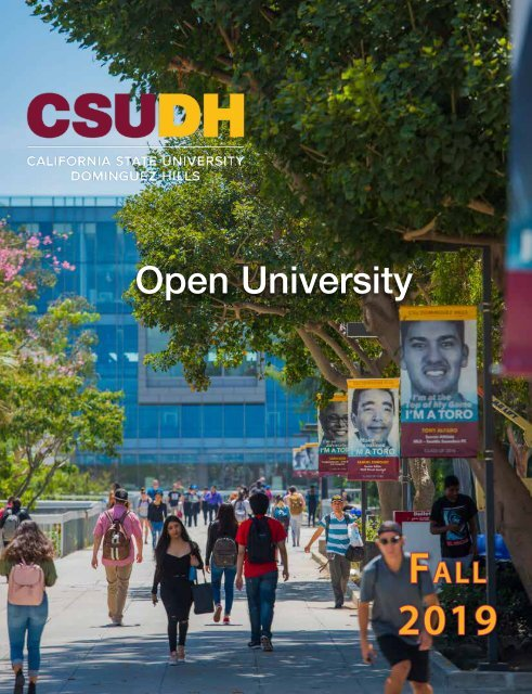 Fall 2019 Open University Schedule (Interactive)