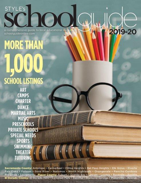 El Paso County Fair 2020.Style S School Guide 2019 2020